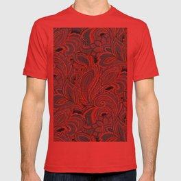 paisley, paisley T-shirt