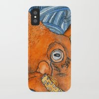 kraken iPhone & iPod Cases featuring Kraken by Amy Nickerson