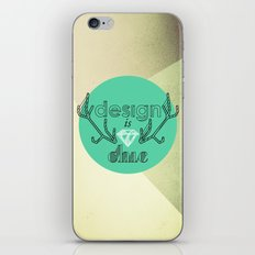 design is chic iPhone & iPod Skin