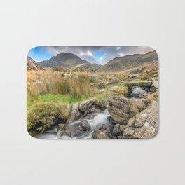Tryfan Mountain River Bath Mat