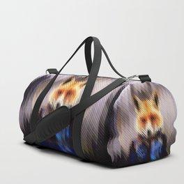 Winter Fox Duffle Bag