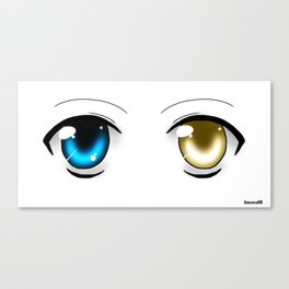 Black&Blue or White&Gold ? Canvas Print