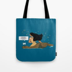 Pocahontas - Just around the Riverbend Tote Bag