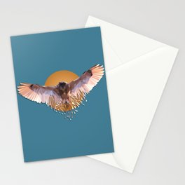 Dangerous owl Stationery Cards