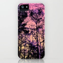 Forest (Sunrise) iPhone Case