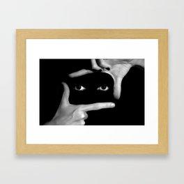 Focus on me Framed Art Print