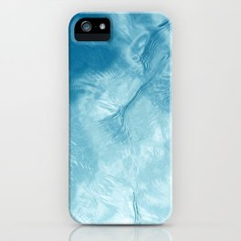Reflection of Sky on Mirror-like Water Surface iPhone Case