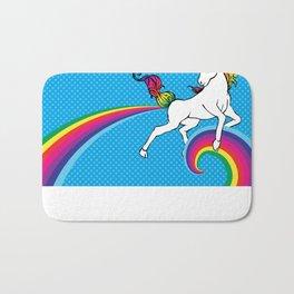 Unicorn Power with Rainbow Bath Mat