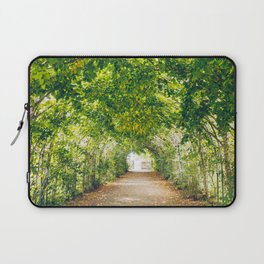 in green summer light Laptop Sleeve