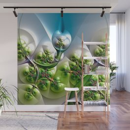 Miracle of fractal growth Wall Mural