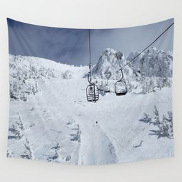 Mammoth Mountain: Chair 14 Wall Tapestry
