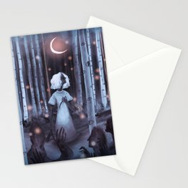 Pale Rainbow - Forest Stationery Cards