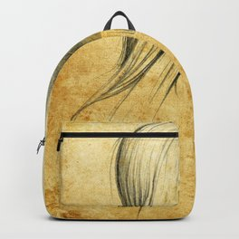 Girl with Nose Pin - 3 Backpack