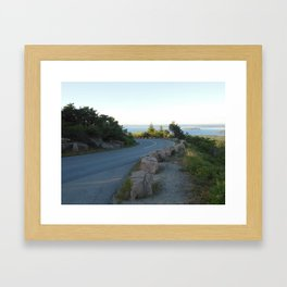 A Road to Cadillac Framed Art Print