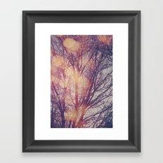 All the pretty lights (1) Framed Art Print