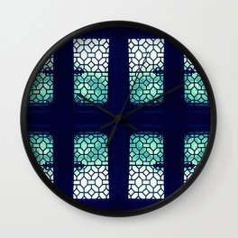 Jaded Pane Wall Clock