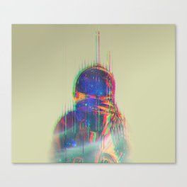 The Space Beyond - Astronaut Canvas Print