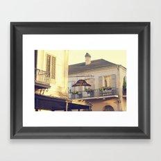 Napoleon Corner Framed Art Print