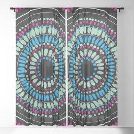 Eye Lense Sheer Curtain