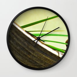 SPA Stones Wall Clock