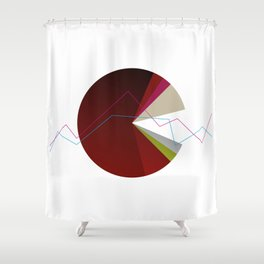 Stadistic Series I Shower Curtain