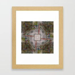 every ebb nudge knows, nary emotion rides ever onward Framed Art Print