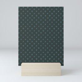 The Simple Pattern 1 Mini Art Print