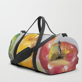 Fruits, apples and pear Duffle Bag