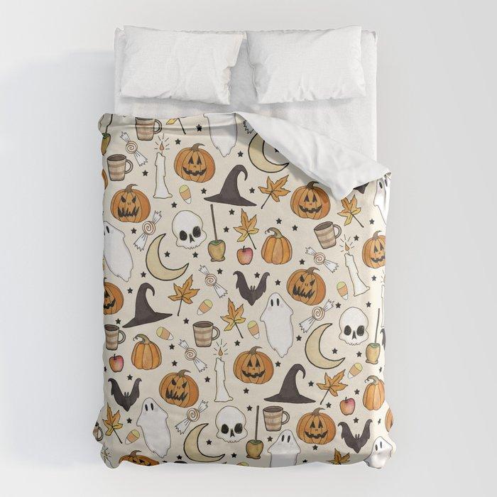 Happy Halloween Bettbezug