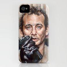 Bill Murray / Ghostbusters / Peter Venkman / Close-Up iPhone (4, 4s) Slim Case