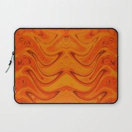Orange Dance Laptop Sleeve