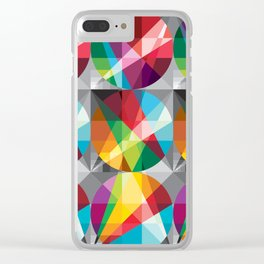 Color aureo Clear iPhone Case