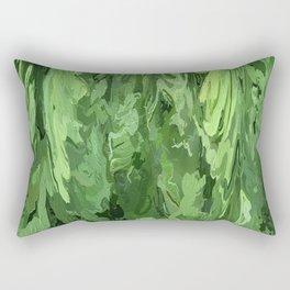402 - Abstract fern design Rectangular Pillow