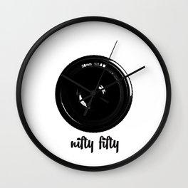 nifty fifty Wall Clock