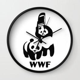 WWF Wall Clock