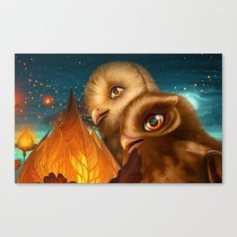 Magic for two Canvas Print