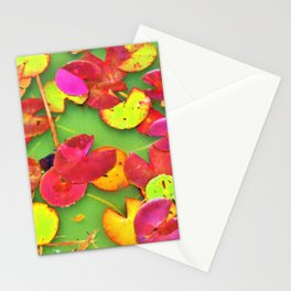 Lily Pad Faces Stationery Cards