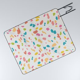 Colorful Animal Print Picnic Blanket