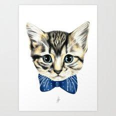 Un petit chaton Art Print