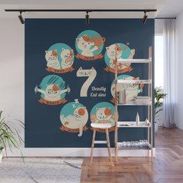 Cats Seven deadly Sins Wall Mural