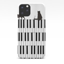 Piano Cat iPhone Case
