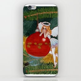 Christmas Angel iPhone Skin