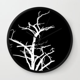 Illusion in black and white Wall Clock
