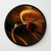 anonymous Wall Clocks featuring Anonymous  by Irène Sneddon