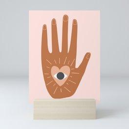See Hold Love Mini Art Print