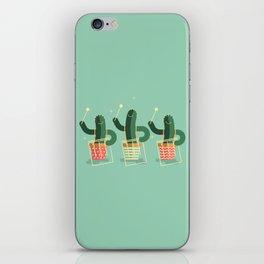 CACTUS BAND / The Surdos iPhone Skin