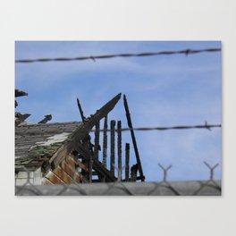 Burned - 1  Canvas Print
