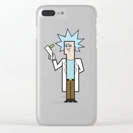 Rick Clear iPhone Case