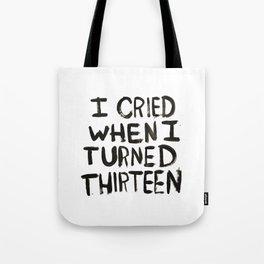 THIRTEEN. Tote Bag