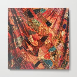 Patches of Morocco Metal Print